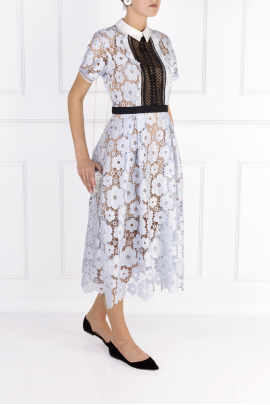 Flower Guipure Dress-2