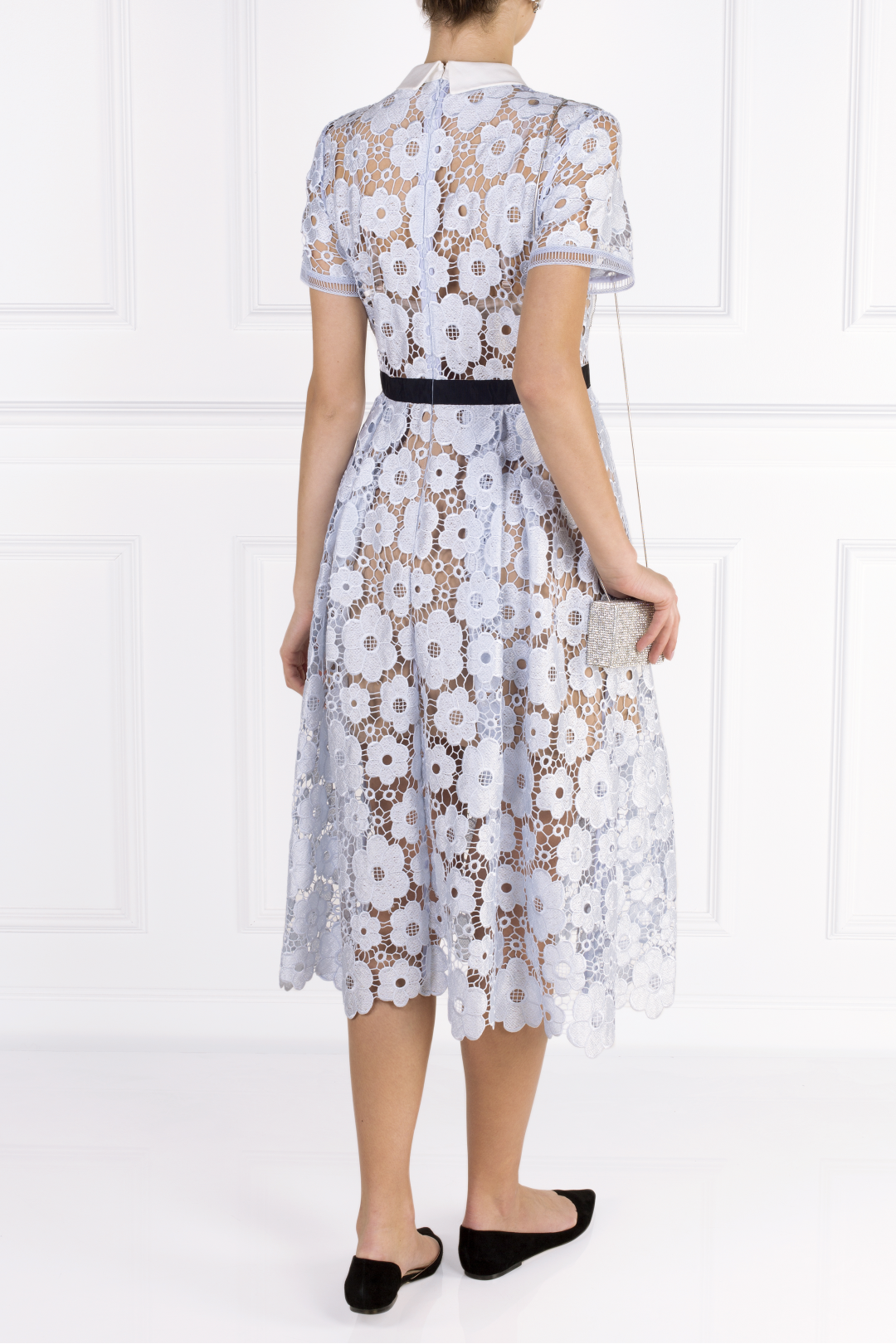 Flower Guipure Dress