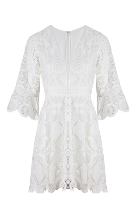 White Webb Dress-0