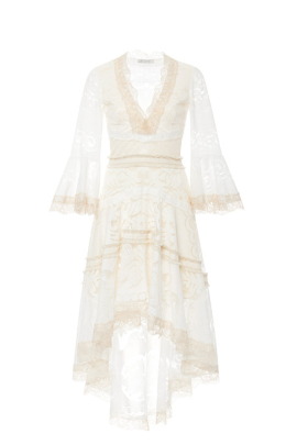 Pearl White Ash Dress / VILNIUS-0