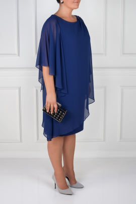 Navy Layered Dress-2