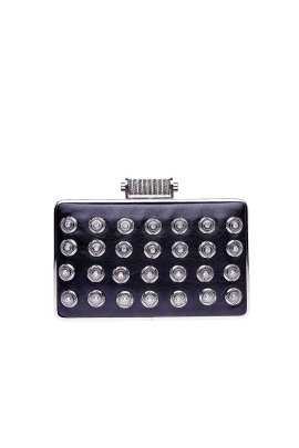Black Crystal Minaudiere-0