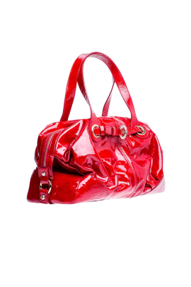 Gloss Red Bag-1